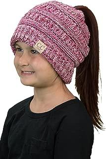 Wension Snapback Unisex Ponytail Messy Buns Trucker Plain Baseball Visor Cap Dad Hat