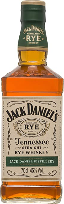 Jack Daniel's Tennessee Straight Rye Whisky , 700 ml