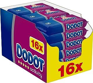 comprar comparacion Dodot Activity Toallitas para Bebé 16 Paquetes de 54 Unidades, 864 Toallitas