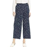 Spring Dot Print Pull-On Pants