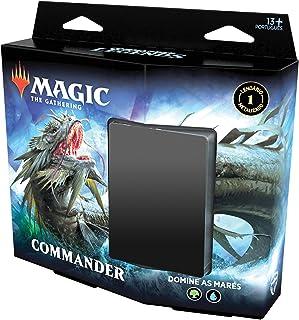 Magic The Gathering - Commander Legends | Commander Deck Reap the Tides | 100 cards | Acessórios | Produto em Inglês