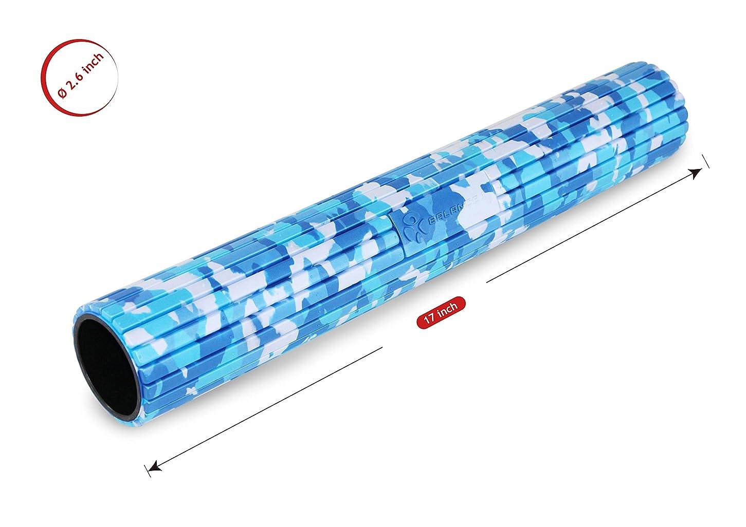 運動に勝る毛布バランスワン 筋膜リリースマイオローラー(Blue)