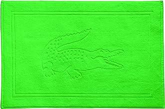 """Lacoste Croc Tub Mat, 100% Cotton, 900 GSM, 22""""x34"""", Glade"""
