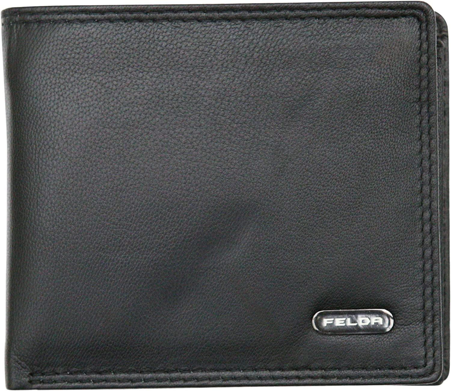 Felda Rfid Blocking Leather Mens Wallet With Cr Note 高級品 Coin 超歓迎された Bank