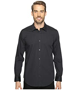 Long Sleeve Infinite Cool Button Down Stripe Shirt