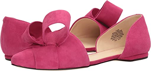 Electric Fuchsia Isa Suede