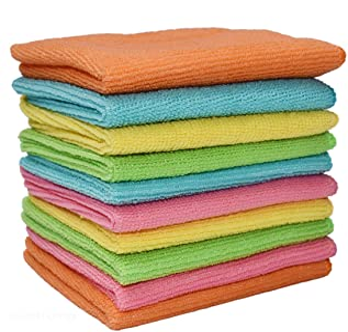 Microfiber Multi Purposes Towels Cloths Car,Kitchen,Bathroom Super Absorbent Kitchen Cleaning Cloths, Perfect Car Wash Clo...