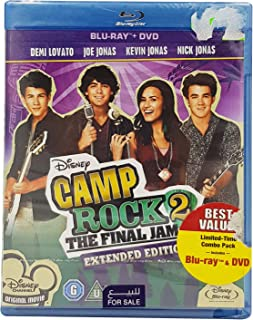 Disney's Camp Rock 2: The Final Jam - Extended Edition | 2-Disc (Bluray + DVD) | With Arabic Subtitle