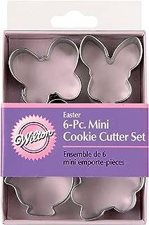 Wilton Easter 6 pc Mini Metal Cookie Cutter Set