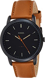 Fossil Men's Quartz Watch, Analog Display and Leather Strap