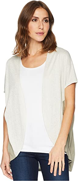 Drop Shoulder Slub Knit Cardigan