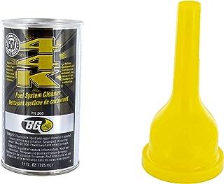 BG 44K Fuel System Cleaner Power Enhancer with Funnel