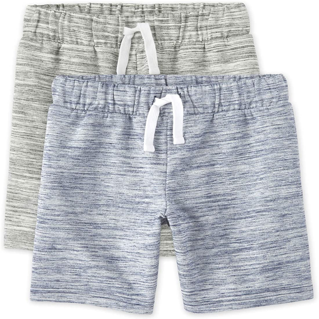 The Children's Place Boys Marled French Terry Shorts 2-Pack