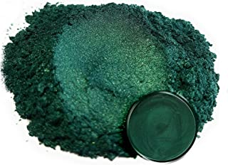"Eye Candy Mica Powder Pigment ""Dark Ocean Green"" (50g) Multipurpose DIY Arts and Crafts Additive | Natural Bath Bombs, Resin, Paint, Epoxy, Soap, Nail Polish, Lip Balm"