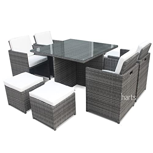 Amazing Grey Rattan Garden Furniture Amazon Co Uk Interior Design Ideas Gentotryabchikinfo
