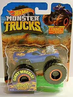 Monster Truck Dodge Rodger Dodger W/ Connect Crash CAR Hotwheels 2019