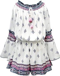 a07e0a68a0b Amazon.com  Big Girls (7-16) - Jumpsuits   Rompers   Clothing ...