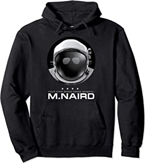 Netflix Space Force Four Star Space Force General M. Naird Sweat à Capuche