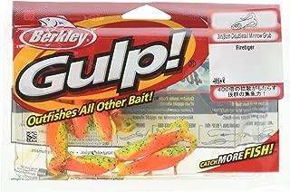 Berkley Gulp Double Tail Minnow Grub Fire Tiger Fishing Bait, Multi, 3