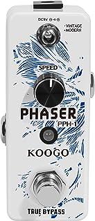 Koogo Guitar Analog Phaser Pedal Vintage/Modern Modes Mini Size