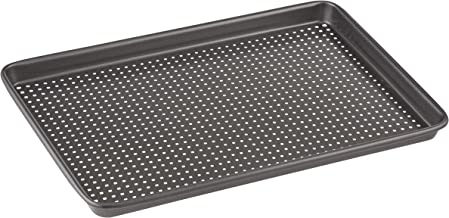 MASTERPRO MPCB3 Baking Tray, Carbon Steel/Black