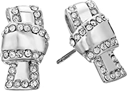 Kate Spade New York - All Tied Up Pave Knot Stud Earrings