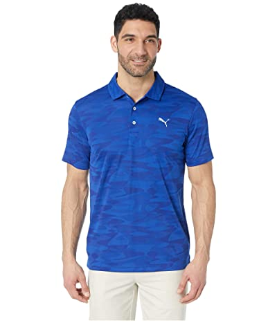 PUMA Golf Alterknit Radius Polo (Surf the Web) Men