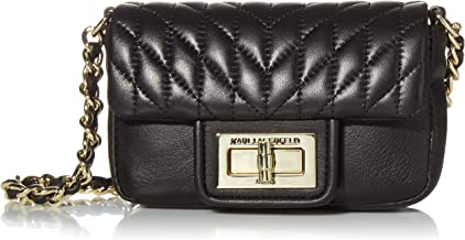 Karl Lagerfeld Paris Agyness Quilted Mini Flap Crossbody