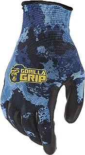 Gorilla Grip Gorilla Grip Fishing Gloves, Veil Aqueous Camo