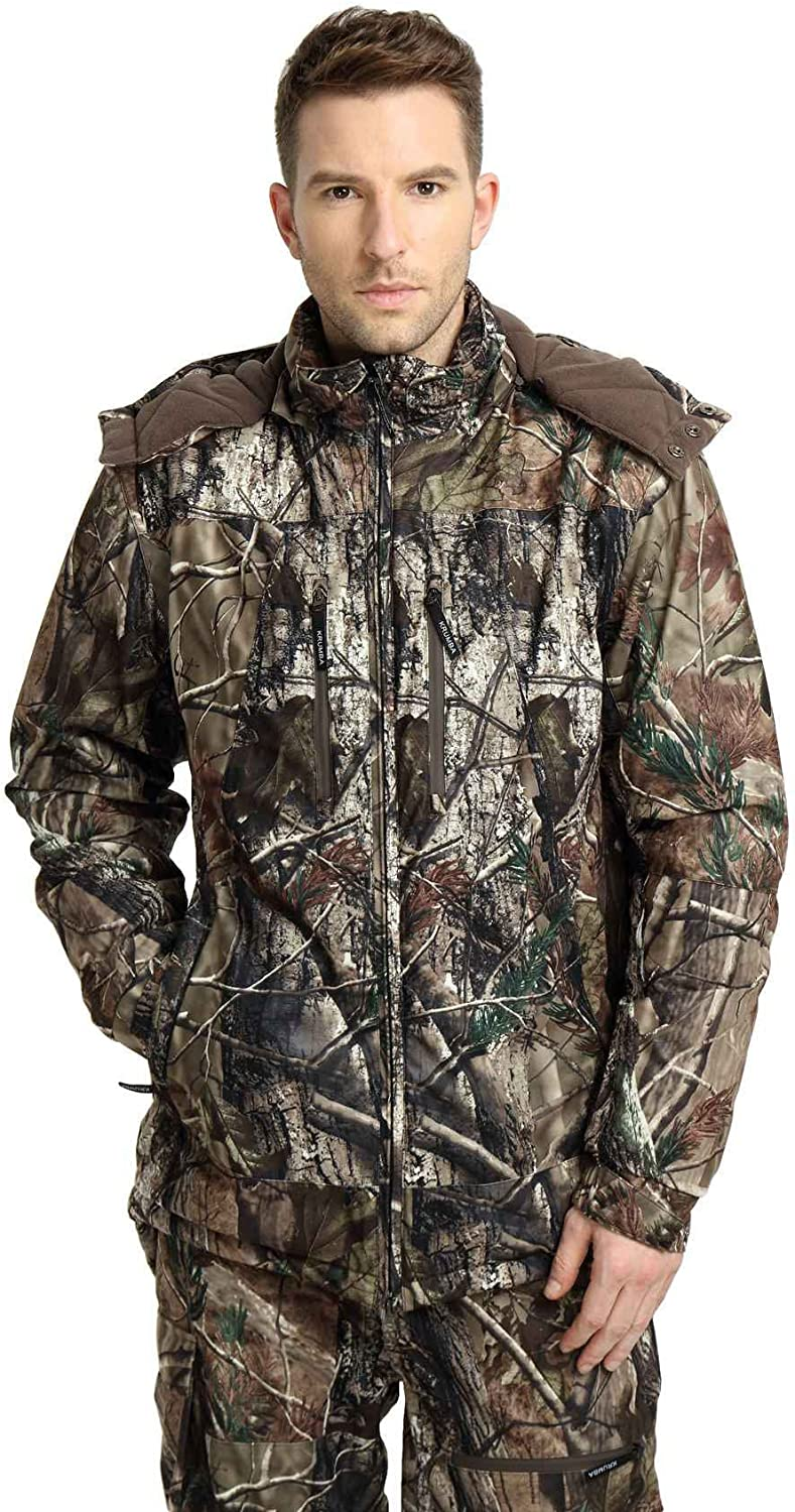 Krumba Men's Camouflage Hunting Sealed Windproof All stores are sold Waterproof Seam Nashville-Davidson Mall