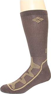 جوارب Columbia للرجال من Poly Mesh Vent Cush Crew Socks ، 3 أزواج (مقاس الحذاء 6-12 US للرجال)