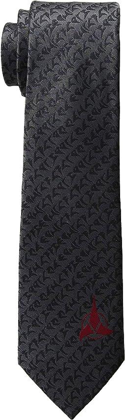 Klingon Grey Tie