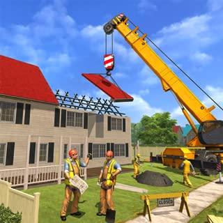 Happy Family House Construction Simulator