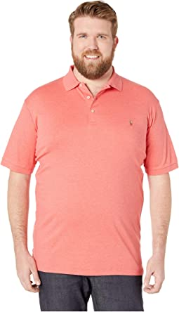 Big & Tall Pima Polo Short Sleeve Custom Slim Fit Polo