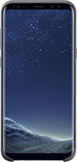 Samsung Original S8 Plus Silicone Phone Case Cover - Dark Grey,EF-PG955TSEG