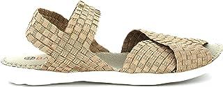 B M Bernie Mev New York Damskie sandały Balmy – niższe sandały z pianką memory