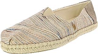 حذاء حريمي بأشرطة سلوب من TOMS ، متعدد الألوان (طبيعي)