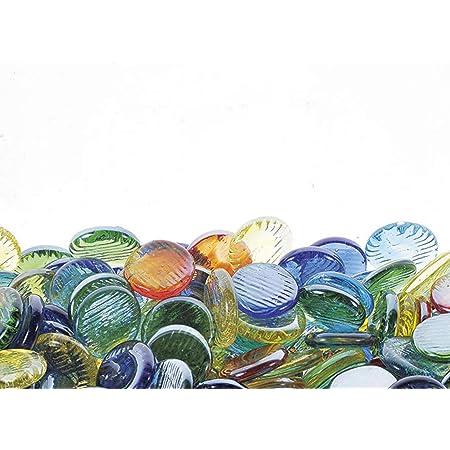 松野ホビー おはじき φ1.7~1.9cm オーロラ 1袋(500粒入) B1318