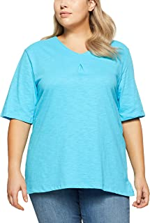 My Size Women's Plus Size Palm Cove Tee