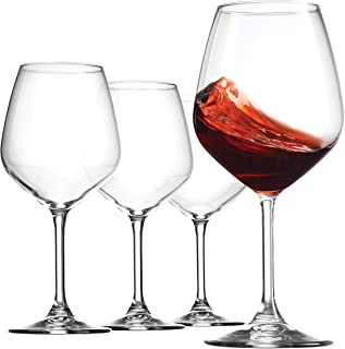 Best red coloured glass wine glasses Reviews