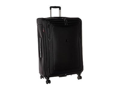 Delsey Cruise Lite Softside 29 Expandable Spinner Upright (Black) Luggage