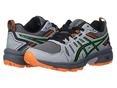 ASICS Kids GEL-Venture 7 (Little Kid/Big Kid) (Carrier Grey/Cilantro) Boys Shoes