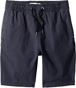 Larry Stretch Elastic Boardshorts (Big Kids)