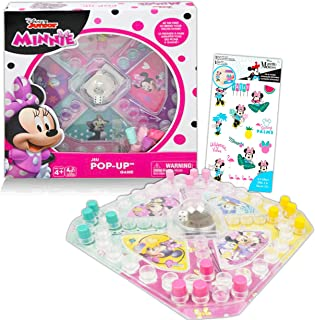 Disney Junior Minnie Mouse Pop Up Game ~ Minnie Mouse Board Game for Kids with Pop Up Dice and Minnie Mouse Stickers (Disn...