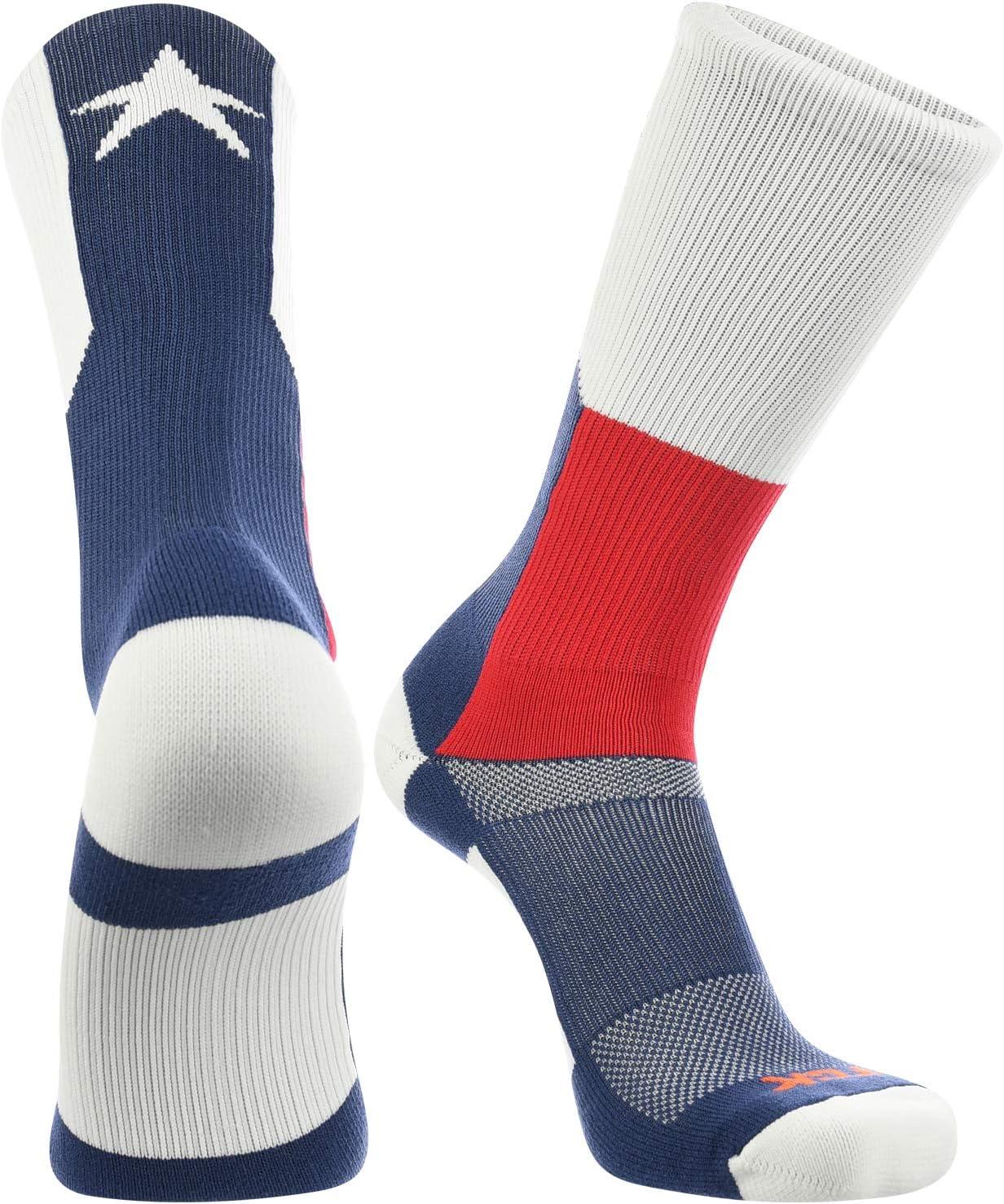 Texas Flag Crew Socks