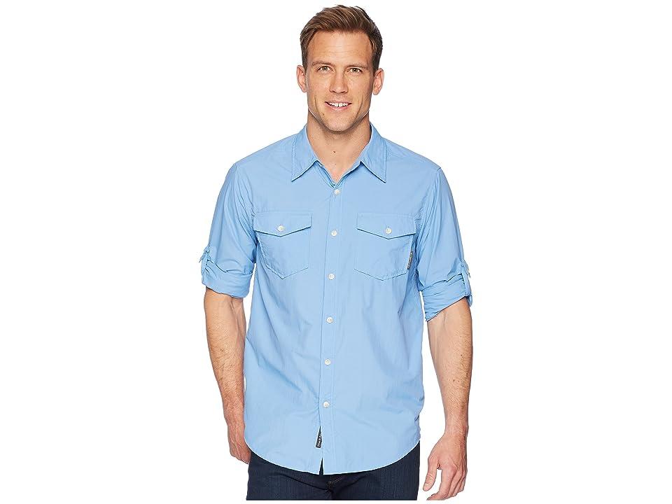 ExOfficio BugsAway(r) Chios Long Sleeve Shirt (Silverlake) Men