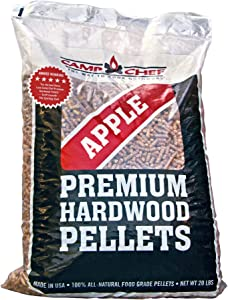 Camp Chef Smoker Grill Orchard Apple & Hickory Barbecue Hardwood Pellet (2 Pack)