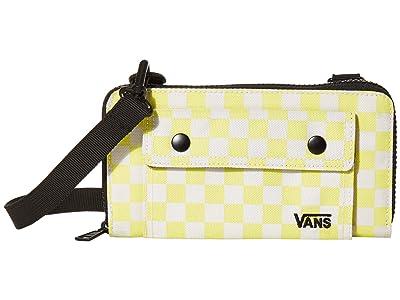 Vans Street Ready Wallet (Lemon Tonic/Checkerboard) Handbags