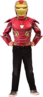 Imagine by Rubie's Child's Marvel Deluxe Iron Man Flip 'N Reveal Dress Up Set, Small