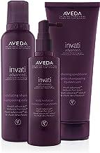 Aveda Invati Advanced Shampoo 6.7 Ounce, Conditioner Scalp Revitalizer 5 Ounce, Lavender, 1 Count